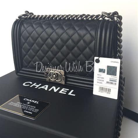 Harga Chanel Boy Medium by Chanel Boy Medium Black New