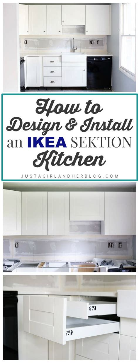 hanging ikea sektion cabinets the 25 best ideas about ikea kitchens on pinterest