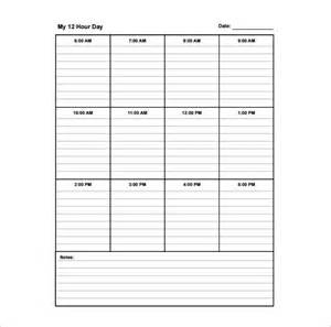 School Schedule Template by School Schedule Template 10 Free Word Excel Pdf