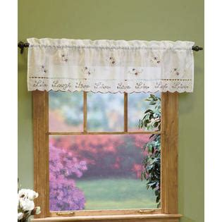 Kitchen Curtains And Swags And Valances From Sears Com Kitchen Curtains At Sears