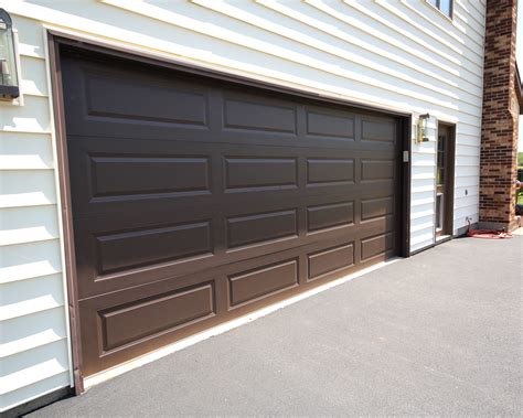 Brown Garage Door by Chi Door C H I Overhead Doors Model 5916 Panel