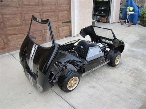 Handmade Go Kart - sleek custom 1 2 scale ford gt 40 go kart