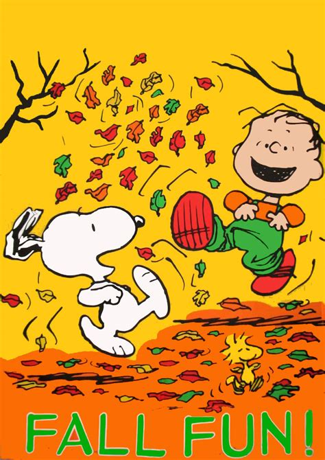 Snoopy Fall Images