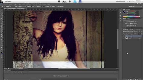 tutorial photoshop cs6 español youtube como crear un efecto vintage profesional tutorial
