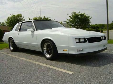 white monte carlo ss with grand national honeycomb wheels