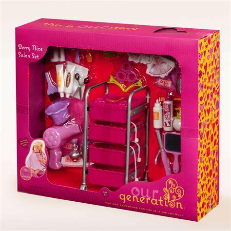 Set Og our generation berry salon set accessory set from