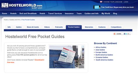 blogger guide pdf 8 great websites to download best travel guides