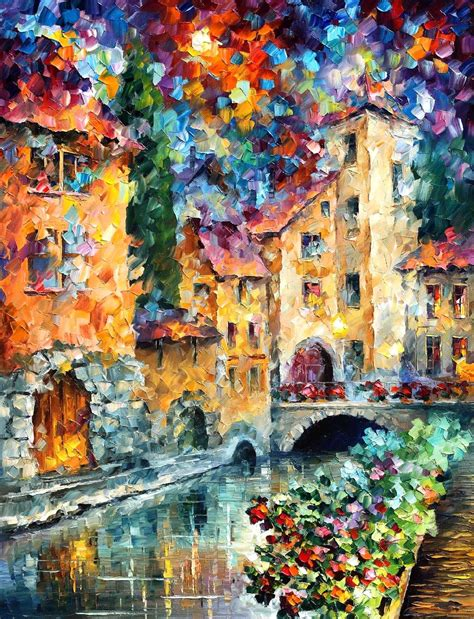 famous wall paintings the window to the past palette knife oil wall art