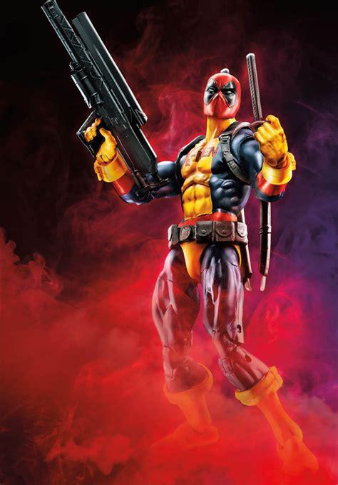 Marvel Legend Deadpool Blue Suit Series 1 fair 2018 official hasbro marvel deadpool toys the toyark news