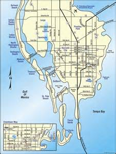 map of florida st petersburg st petersburg florida ezdiningguide