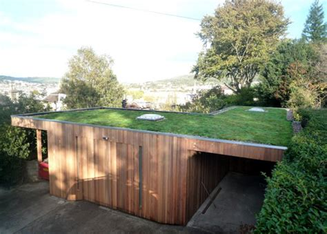 Building A Workshop Garage Bespoke Artist S Studio With Green Roof 100sqm