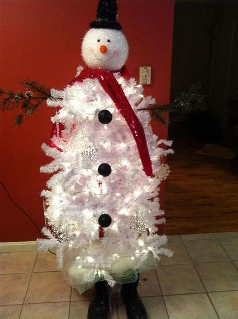 snowman christmas tree saw one like this at hobby lobby