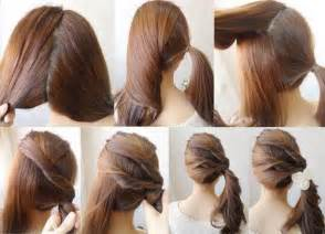 easy hairstyles for long hair your glamour