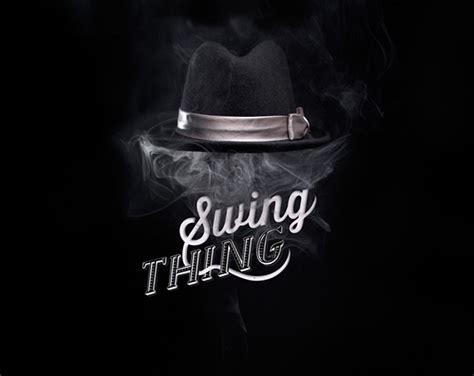 swing electro logo swing thing logo for electro swing dj on behance