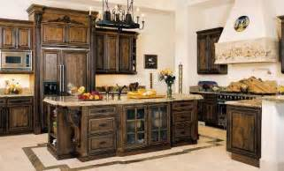 kitchen appealing stained kitchen cabinets design idea
