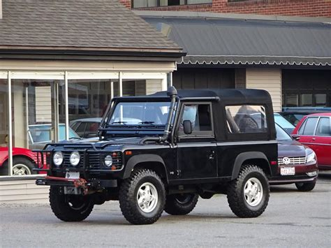 land rover defender 90 convertible 1997 land rover defender 90 convertible copley motorcars