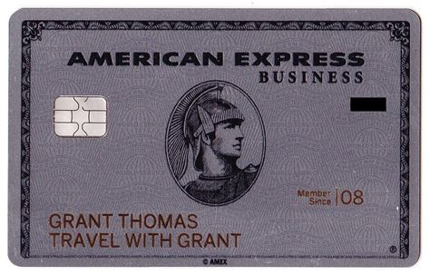 American Express Business Platinum Metal Card i my new shiny metal american express business