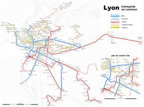 Lyon France Map by Lyon Metro Map Lyon France Mappery