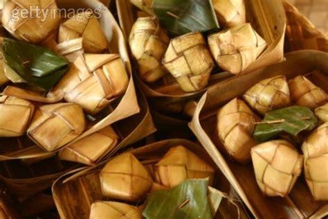variasi makanan  malaysia makanan melayu ketupat
