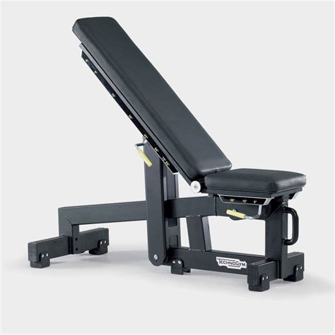 technogym bench press element adjustable gym bench