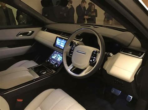 land rover velar interior 2018 range rover velar check out pictures price and