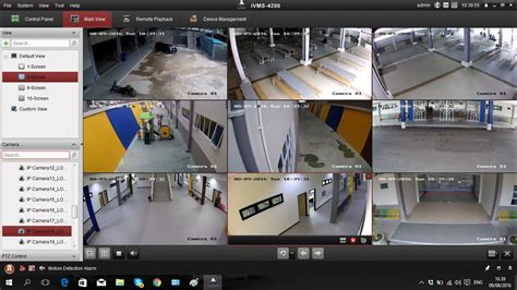cctv door access time attendance networking batam