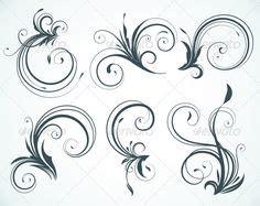 Buchstaben Schablonen Zum Lackieren Selber Machen by Herunterladen Vektor Wirbel Stockillustration