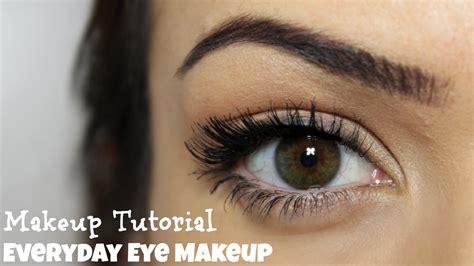 eyeshadow tutorial everyday everyday eye makeup 5 steps makeup tutorial youtube