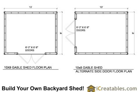 10 X 8 Wood Floor Shed Plans - shed r plans diy wooden storage cabinet plans 10x8