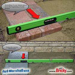Diy Patio Bed Pavers Mate Block Paving Sand Screed Tool