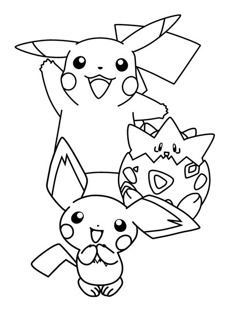 pokemon coloring pages togepi free coloring pages of pokemon togepi