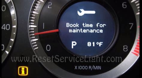 service tool new reset v50 reset book time for maintenance volvo s60 2010 2015