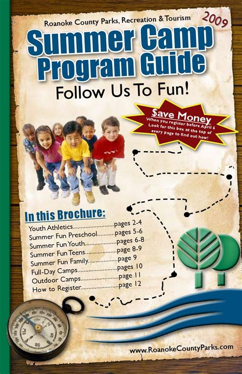 kauai county parks recreation summer programs summer cs guide 2009 by roanoke county parks