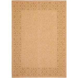 safavieh courtyard gold 8 ft x 11 ft indoor outdoor area rug cy6011 39 8 the home depot
