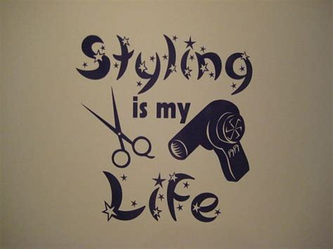 Hair Dryer Quotes hair stylist dryer salon decal sticker car hair stylists about me and
