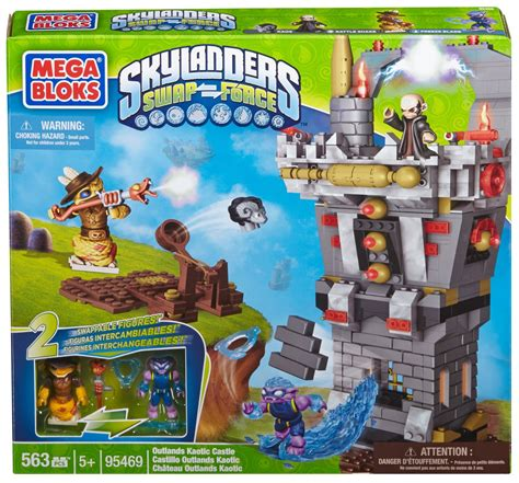 Kaos Lego 18 mega bloks skylanders outlands kaotic castle only