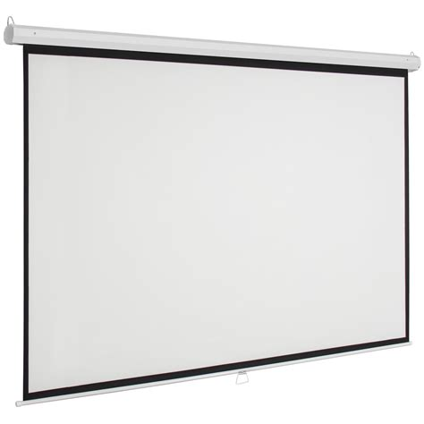 Screen Projector 119 quot manual projector screen 84 quot x84 quot pull projection home theater