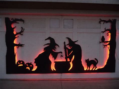 halloween decorations 100 easy to make halloween decor 35 ideas to decorate windows with silhouettes on halloween