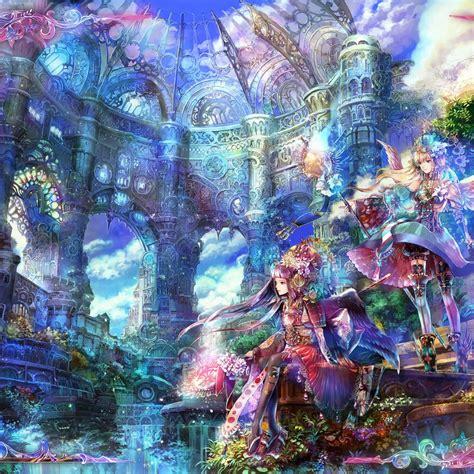 anime girl ipad wallpaper ipad air 22953 anime scenery by hikaristephanie on deviantart