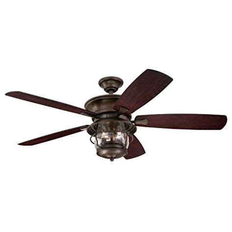 seeded glass ceiling fan 7800000 brentford 52 inch aged walnut indoor outdoor