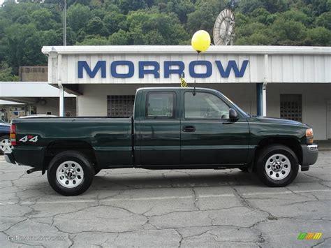 green gmc truck 2005 polo green metallic gmc 1500 work truck