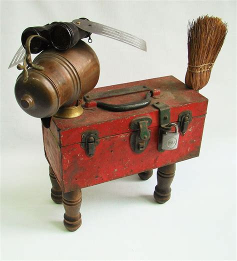 Found Object Junk Critters And Science Experiments 371 Best Critters Vintage Repurposed Images On Junk Sculptures And