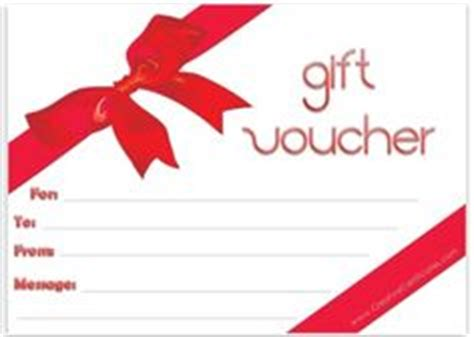 printable e vouchers 1000 images about gift vouchers on pinterest gift