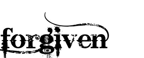 forgive tattoo designs forgiven design this font bleeding cowboy