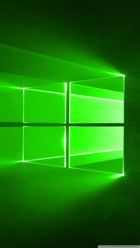 wallpaper windows 10 green windows 10 green 4k hd desktop wallpaper for wide