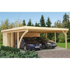 carport with storage shed attached