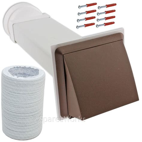 Where To Vent A Tumble Dryer - venting kit for miele tumble dryer vent external wall