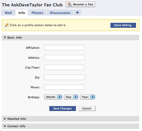 how to create a fan page how to create a fan page ask dave