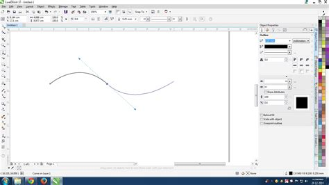 Corel Draw X7 Tools | pen tool problems coreldraw graphics suite x7