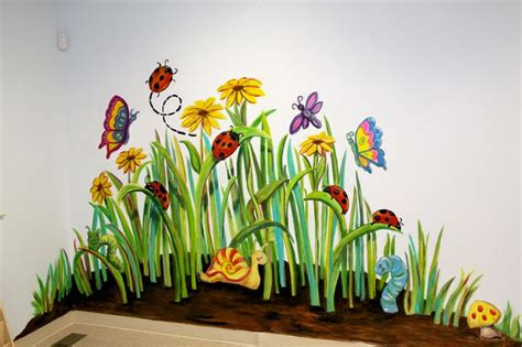 Garden Mural Paintings Outdoors Pinterest Gardens Garden Wall Mural